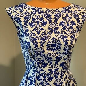 Be Outside Dress in Delft -from ModCloth